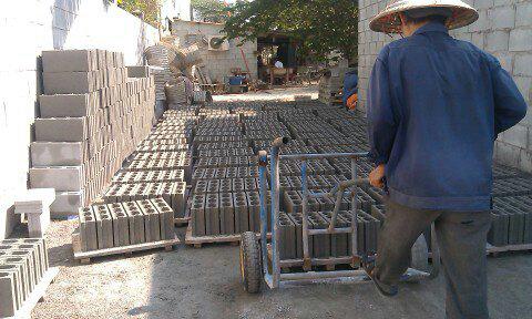 quy trình sản xuất gạch block 2